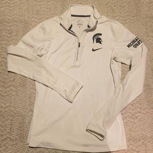 Nike Michigan state dry fit shirt